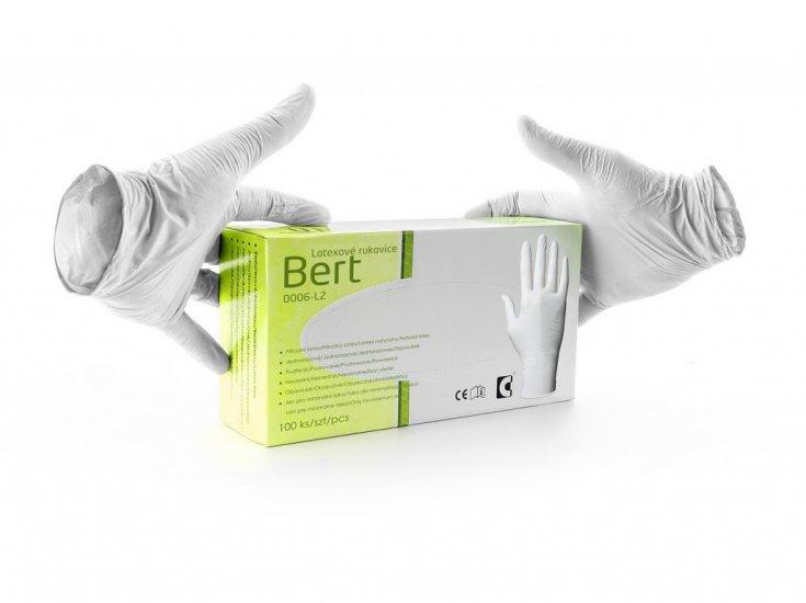 Jednorázové latexové rukavice BERT   Pracovní oděvy 6b4702f8bf