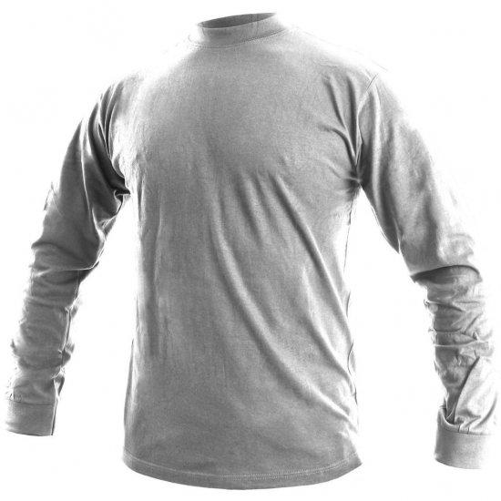 da1190e55422 Tričko s dlouhým rukávem PETR - bílé   Pracovní oděvy